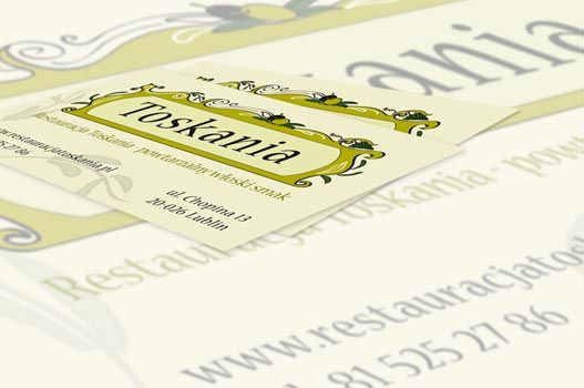 Toskania Business Card