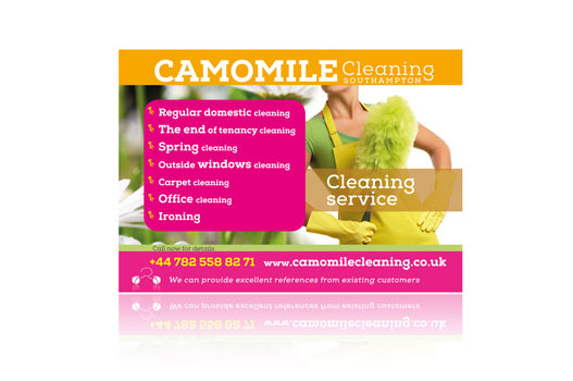 Camomile Cleaning Service Southampton